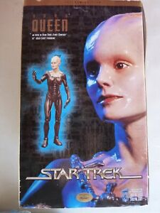"Star Trek Latinum Edition Borg Queen 12"" Cold Cast Figurine MINT IN BOX"