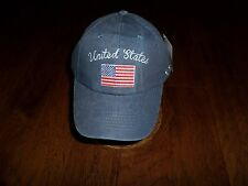 UNITED STATES FLAG HAT U.S AMERICAN FLAG EMBROIDERED BALL CAP