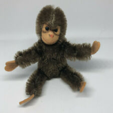 Vintage Steiff Miniature Jocko Monkey with Jointed Limbs No Tag 1960s