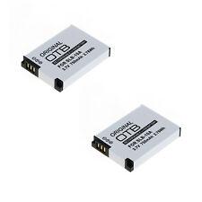 2x Akku Ersatzakku für Samsung WB500 WB550 WB150F WB700 WB750 WB850F SLB-10A