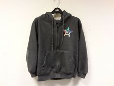Uneek Childrens Hoodie Extra Small Grey Cotton Blend