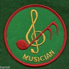 BOY SCOUT YOUTH POSITION PATCH - MUSICIAN