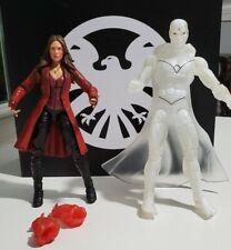 Marvel Legends Rare White Vision & Scarlet Witch MCU Avengers lot WandaVision