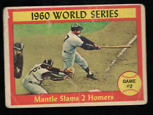 Mickey Mantle  1961 Topps #307