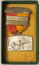 1946 Maine State Rifle & Pistol Assn Dewar Course Sharpshooter Medal Shooting
