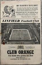 More details for linfield v glenavor 1958/59