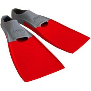 Zoggs Long Blade Swim Fins 2-3US - Swimming Pool Training Aid