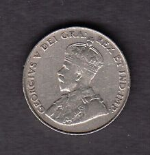 F1 CANADA 5 CENTS 5c COIN 1922 NEAR S FINE+ $15.00