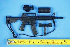 1:6 Scale Action Figure M4 Carbine RIFLE SOPMOD + Forward Handgrip