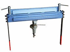 Plieuse à tôle manuelle 450mm / 1,2mm - Rapide, Suivie Livraison !!!