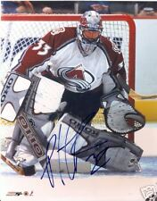 PATRICK  ROY  COLORADO  AVALANCHE   SIGNED 8X10