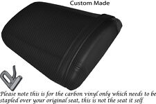 Fibra De Carbono Vinilo Personalizada Para Honda Cbr 600 Rr5 rr6 05-06 trasera cubierta de asiento