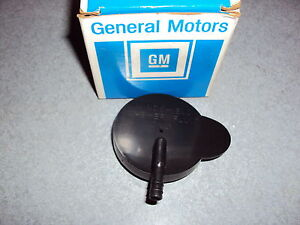 GM NOS Windshield Washer Fluid Reservoir Tank Cap Buick Chevy Oldsmobile Pontiac
