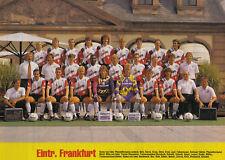 EINTRACHT FRANKFURT FOOTBALL TEAM PHOTO>1991-92 SEASON