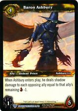 WOW TCG Baron Ashbury Dungeon Treasure 26/60 - WORLD OF WARCRAFT ENG MINT