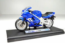 Triumph TT 600 Blue Scale 1:18 Motorcycle Model of Welly