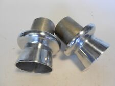 Through Body Exhaust Tips,Hot Rod, Polished Aluminum