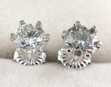 Fine Diamond Stud Earrings