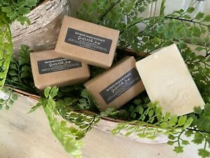 Goats Milk Bar Soap w/Essential Oils Handmade All Natural 100% Pure Therapeutic