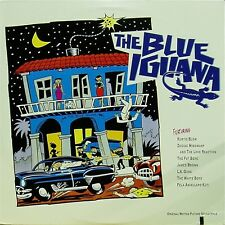 OST 'THE BLUE IGUANA' US IMPORT SOUNDTRACK LP JAMES BROWN KURTIS BLOW LA GUNS