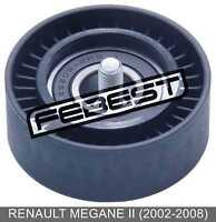 Pulley Tensioner For Renault Megane Ii (2002-2008)