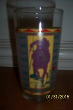 1979 Kentucky Derby Glass Tumbler