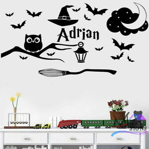 Harry Potter Theme Personalised Wall Sticker Decal Any Name