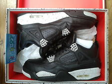 NIKE air Jordan 4 IV OREO 2015 43 eur 9.5 us 8.5 Uk Retro NDS Black COLOR