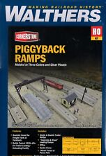Ho Scale Walthers Cornerstone 933-4048 Piggyback Ramps Kit