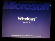 Microsoft Windows 3.0 OEM by MITAC Rarität!!! + Update-CD auf MS Windows95