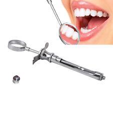 Popular Stainless Dental Aspirating Syringe Dentist Surgical Instruments 1.8ML