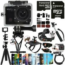 Waterproof 16.1MP Action Camera Camcorder 1440p 4K Video Wifi Remote