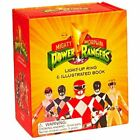 Mighty Morphin Power Rangers Light-Up Ring and Illustrated Book Saban 2016 3c4