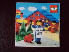 NEW SETS FROM LEGO 1977 LEAFLET  FREE UK P+P