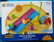 STEM : LEARNING RESOURCES ~ Force & Motion Activity Set