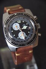 Rare RE Mechanical EB8420 (Serviced & Fine) Chronograph Diver Watch Uhr Reloj