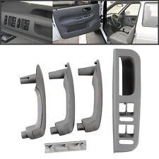 Gray Car Interior Door Grab Handle Cover Switch Bezel For VW Jetta Golf Bora MK4