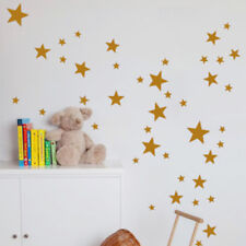 110Pcs 3size Stars Wall Stickers Kids Decal Art Baby Nursery Bedroom Decoration