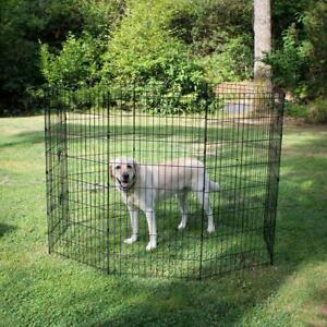 Lucky Dog Dog Pen/Gate 48 in. Rust Resistant Sturdy Wire Steel