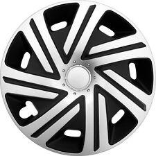 """Set di 4 15 """"UNIVERSALE WHEEL TRIMS copertura, Cerchioni, MOZZO, Tappi per adattarsi Vauxhall + REGALO #P"""
