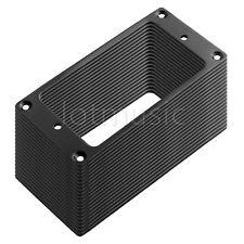 50 Pcs Flat Metal Humbucker Pickup Mounting Ring Frame Black