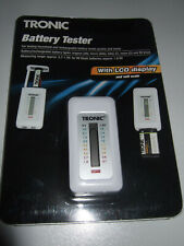 Tronic Battery Tester with LCD Display