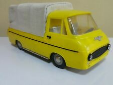 VINTAGE SKODA BUS VEHICLE TIN TOY VAN PLASTIC FRICTION 70's IGRA CZECH REPUBLIC