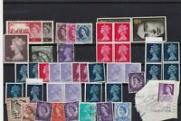 great britain mixed and machins stamps ref 13381