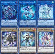 Yugioh World Legacy Deck 45 Cards Ningirsu *Auram* Ib *Lee* Guardragon Losse kaarten Mekk