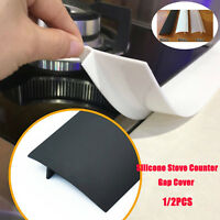 Silicone Stove Counter Gap Cover Oven Guard Spill Seal Slit Filler Kitchen E1P0