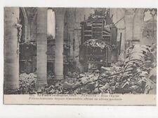 Peronne La France Reconquise 1917 Dans l'Eglise WW1 Postcard 823a