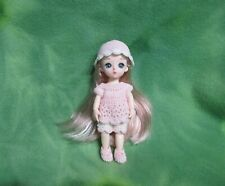 """6"""" Bjd + Custom Crochet Clothing * Rooted Styled Hair * Collectibles * Lovewraps"""