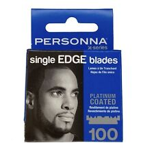 Personna X Series Single Edge Platinum Coated Blades 100 Ct