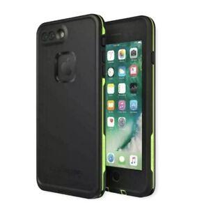 LifeProof FRE 360° Waterproof Water Snow iPhone 7 & 8 Plus Case Black Lime Green